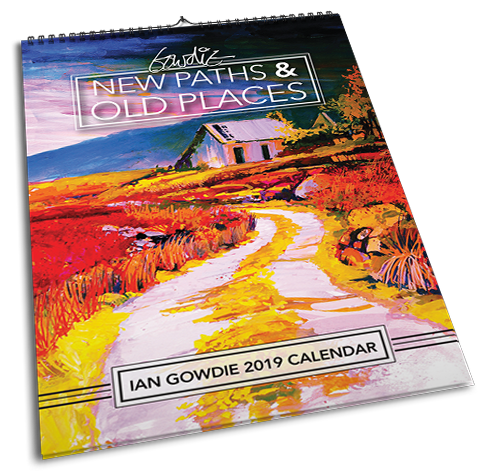 New paths & Old Places 2019 Calendar